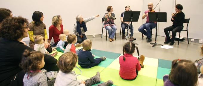 0-3 ans : à la découverte de l'Orchestre symphonique de Mulhouse