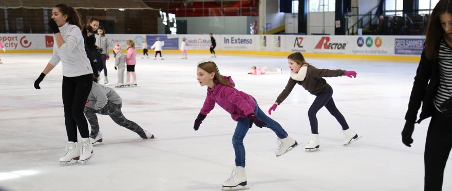 Vacances patinoire - Catherine Kohler
