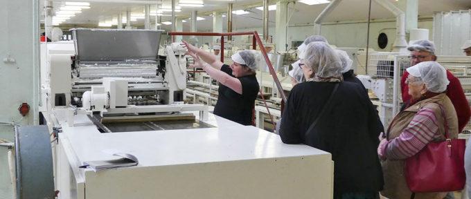 Visites d'entreprises : les gourmandises de la biscuiterie Albisser