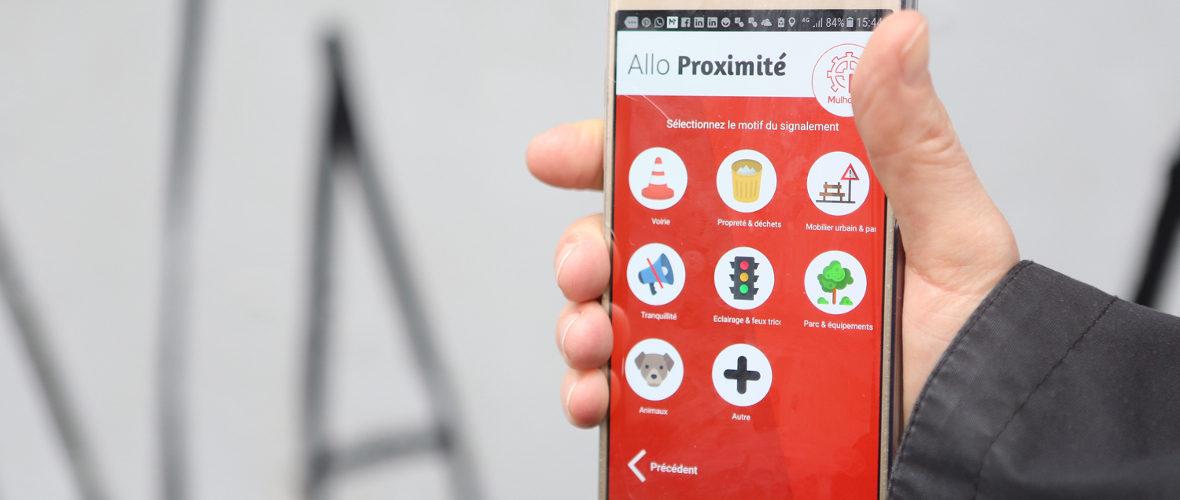 Allo Proximité : l'appli mobile pour améliorer le quotidien | M+ Mulhouse
