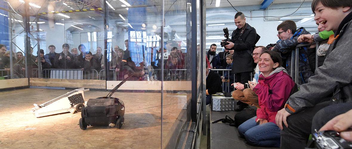 Makerfight : combats de robots ce week-end! | M+ Mulhouse