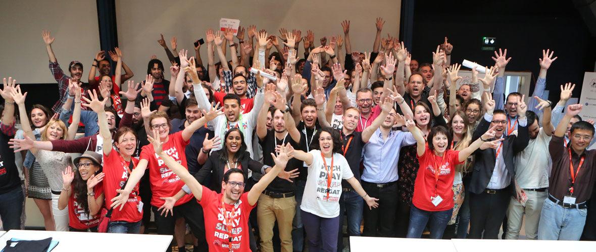 Un week-end pour créer une startup | M+ Mulhouse