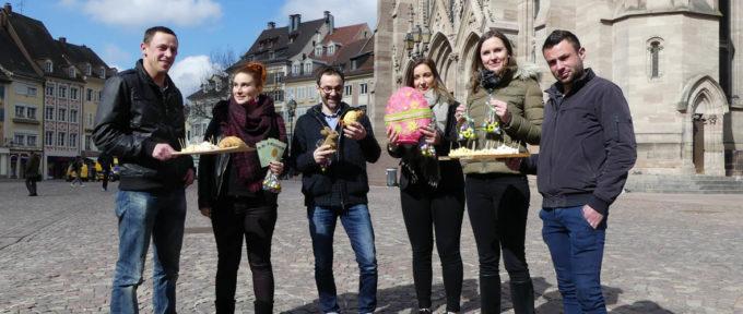 Marché de Pâques de Mulhouse: primeur à l'agriculture locale