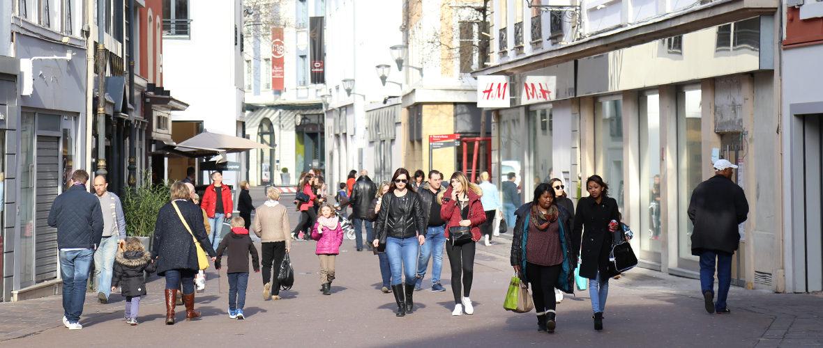 Commerce: Mulhouse toujours dynamique   M+ Mulhouse