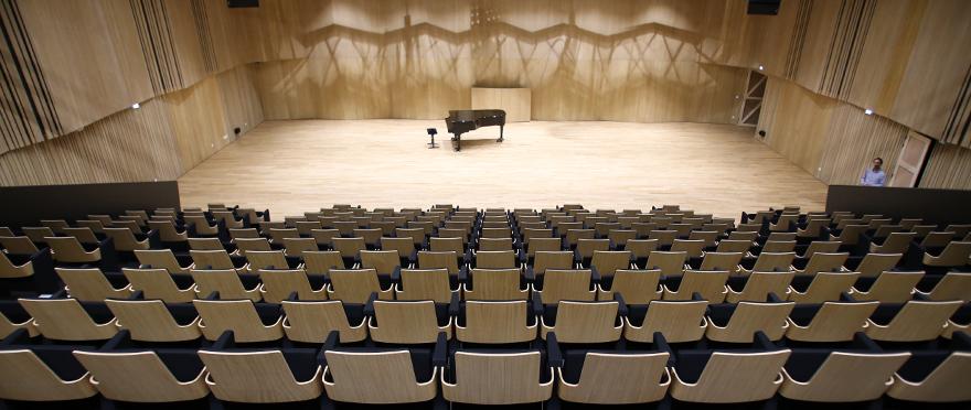 Nouveau conservatoire de Mulhouse : auditorium de 325 places