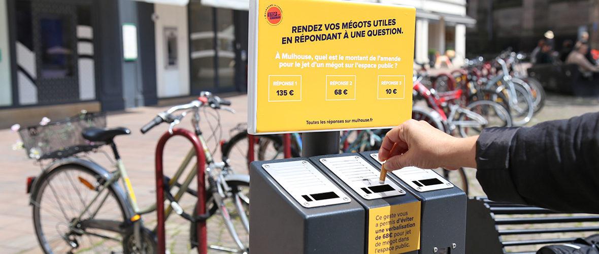 Stop aux mégots dans l'espace public | M+ Mulhouse