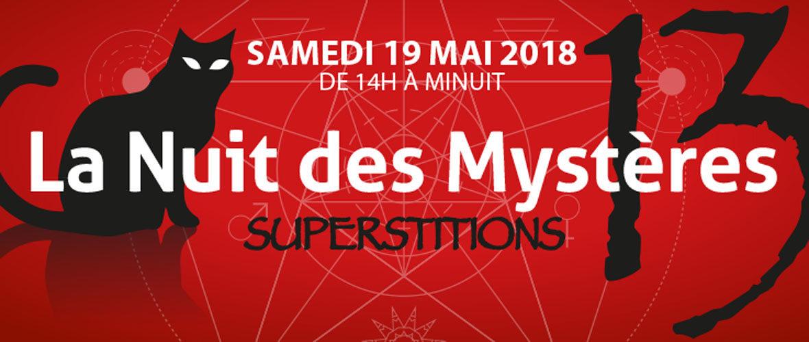 Nuit des mystères : sous le signe du 13…   M+ Mulhouse