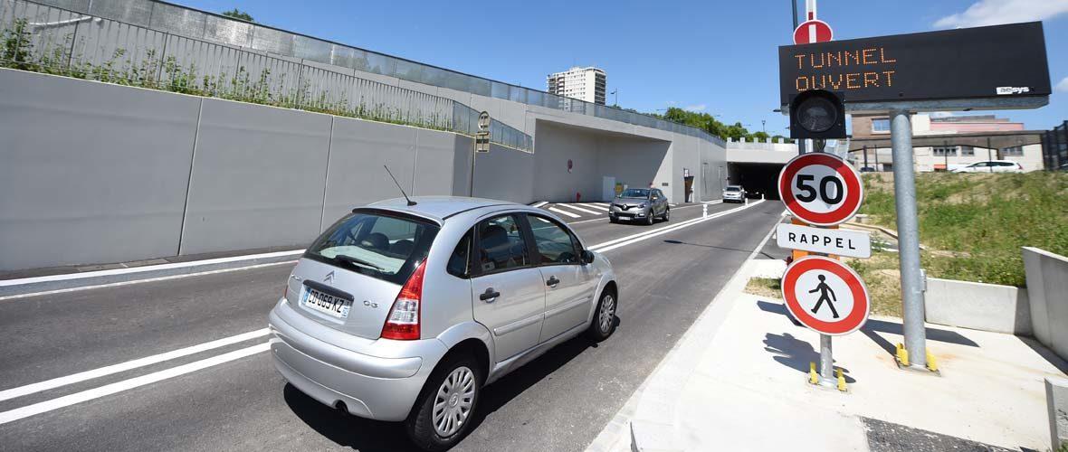 Tunnel de la Voie Sud: deux mois après | M+ Mulhouse