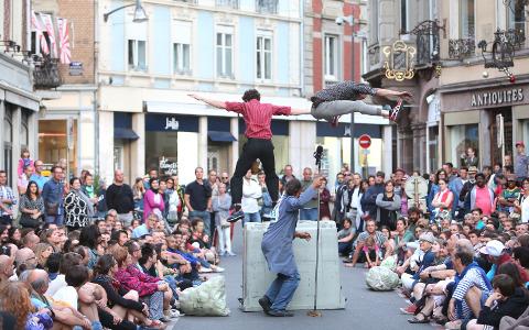 Un spectacle de Scènes de rue 2017