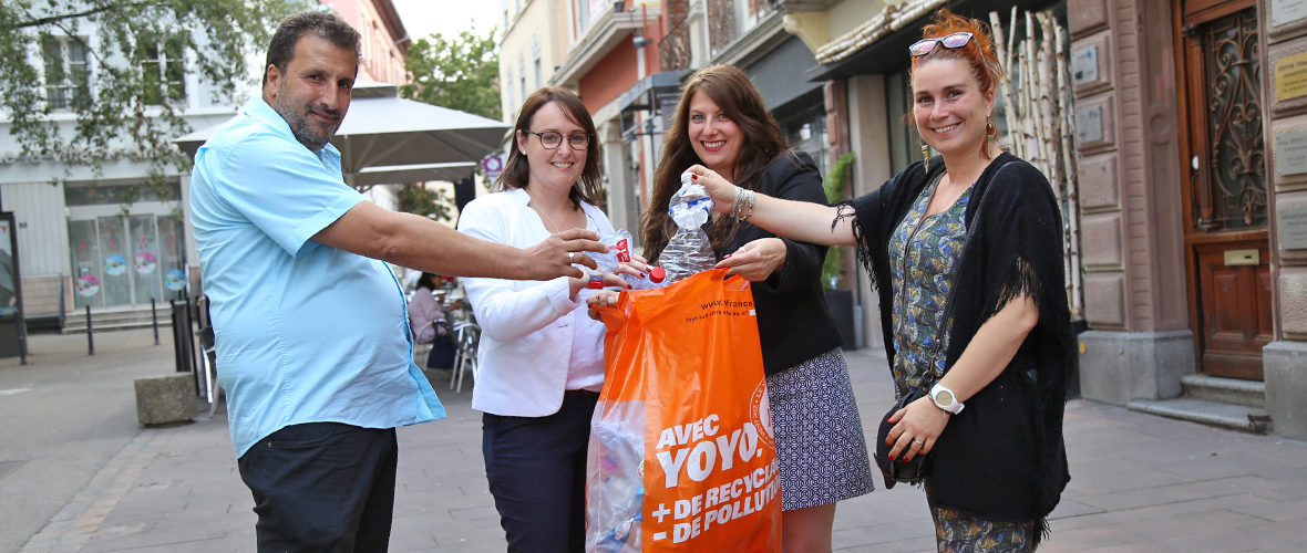 Yoyo, plus de recyclage, moins de pollution, plus de bons plans! | M+ Mulhouse