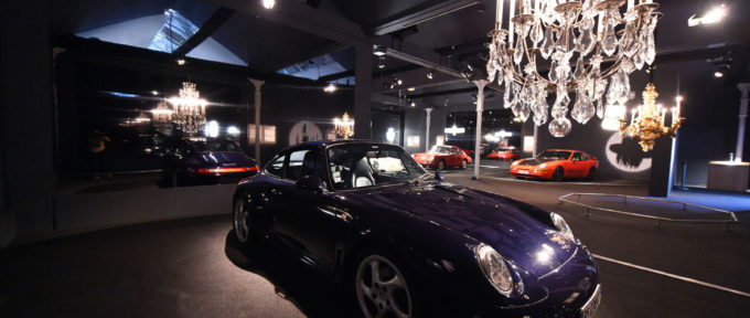 Porsche en lumière à la Cité de l'auto