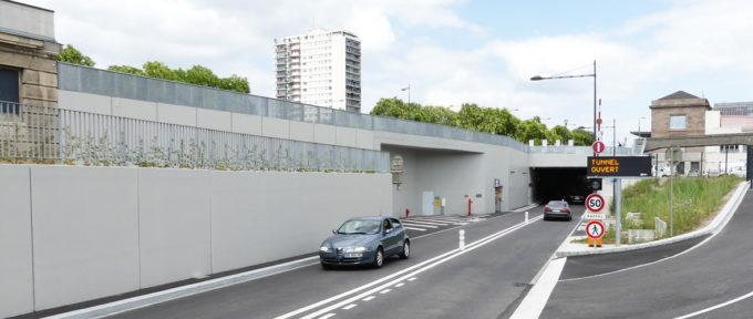 Tunnel de la Voie Sud : une ventilation plus discrète