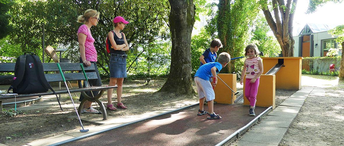 Testé pour vous: le Mini-golf de l'Illberg   M+ Mulhouse