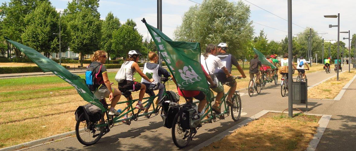 Alternatiba : le Tour des alternatives fait étape à Mulhouse | M+ Mulhouse