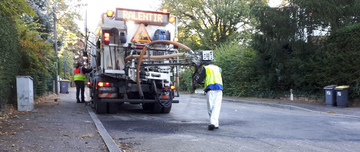Travaux : chasse aux nids de poule et aux dégradations des chaussées   M+ Mulhouse