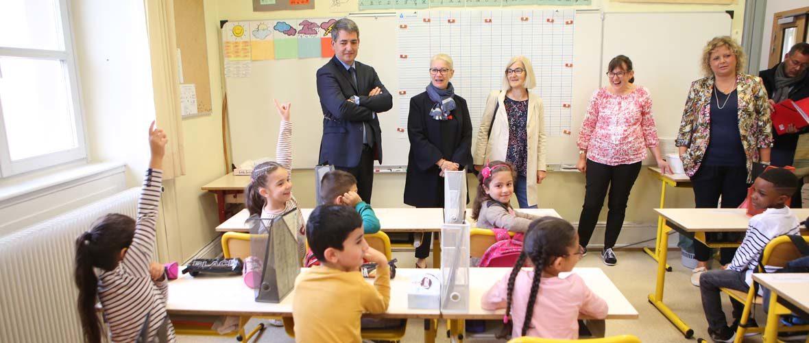 Jour de rentrée pour les 12 000 écoliers mulhousiens | M+ Mulhouse