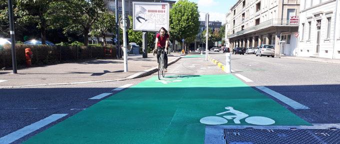 Rue des Bonnes gens: du neuf pour les cyclistes