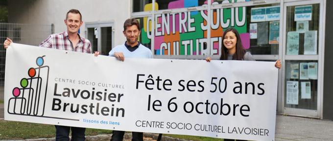 50 bougies pour le CSC Lavoisier-Brustlein