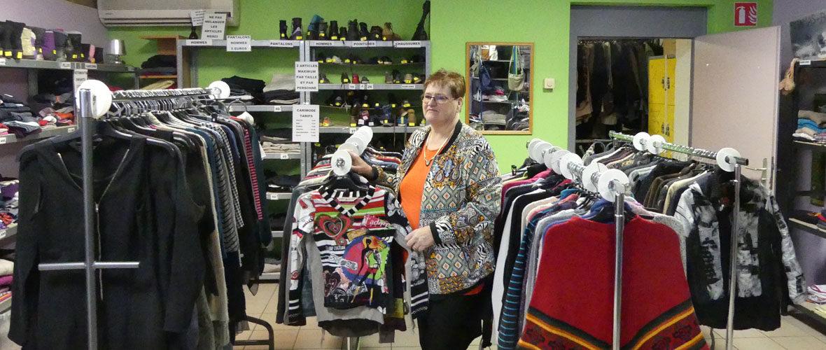 Une nouvelle boutique solidaire de vêtements chez Caritas   M+ Mulhouse