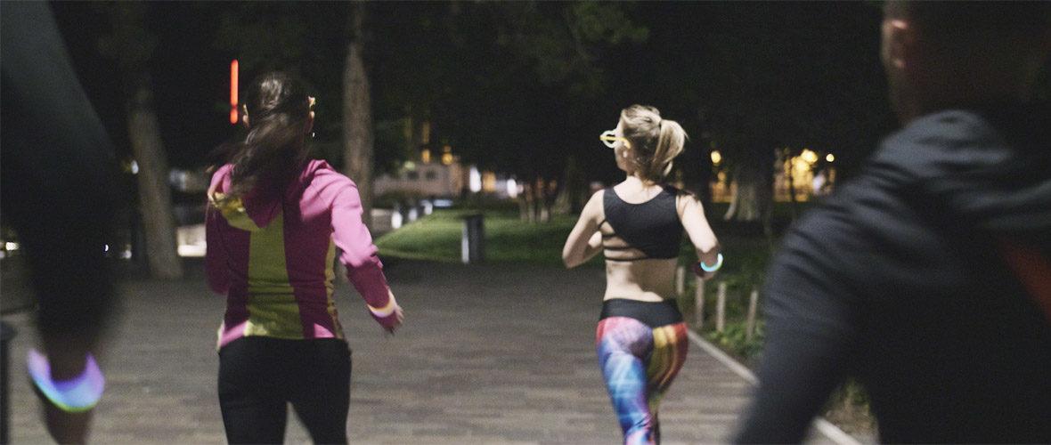 Light run, première course fluo de nuit dans les rues du centre-ville de Mulhouse | M+ Mulhouse