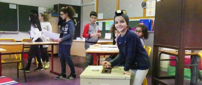 Conseil municipal des enfants: jours de vote dans les 24 écoles élémentaires