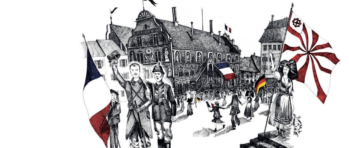 Les commémorations du centenaire de la fin de la Grande Guerre à Mulhouse | M+ Mulhouse