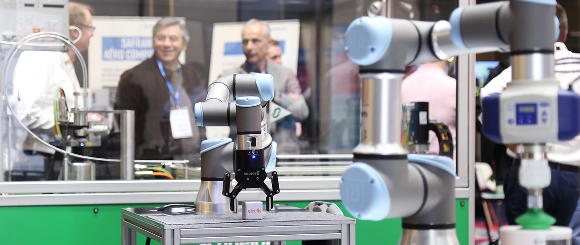 Robots et business au Salon Industrie du futur | M+ Mulhouse