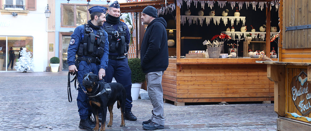 Marché de Noël : la sécurité d'abord ! | M+ Mulhouse