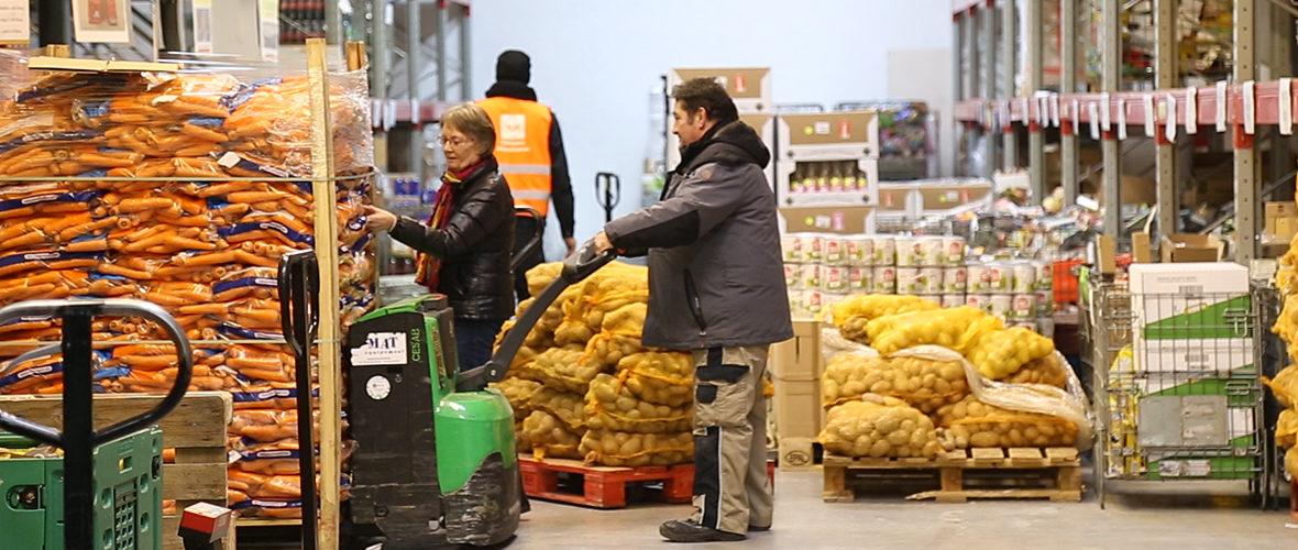 [VIDEO] La collecte de la Banque alimentaire se prépare | M+ Mulhouse