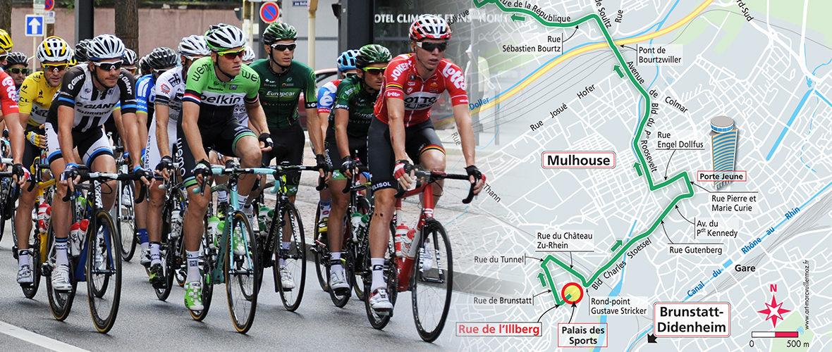 Avant-première : découvrez le tracé mulhousien du Tour de France | M+ Mulhouse