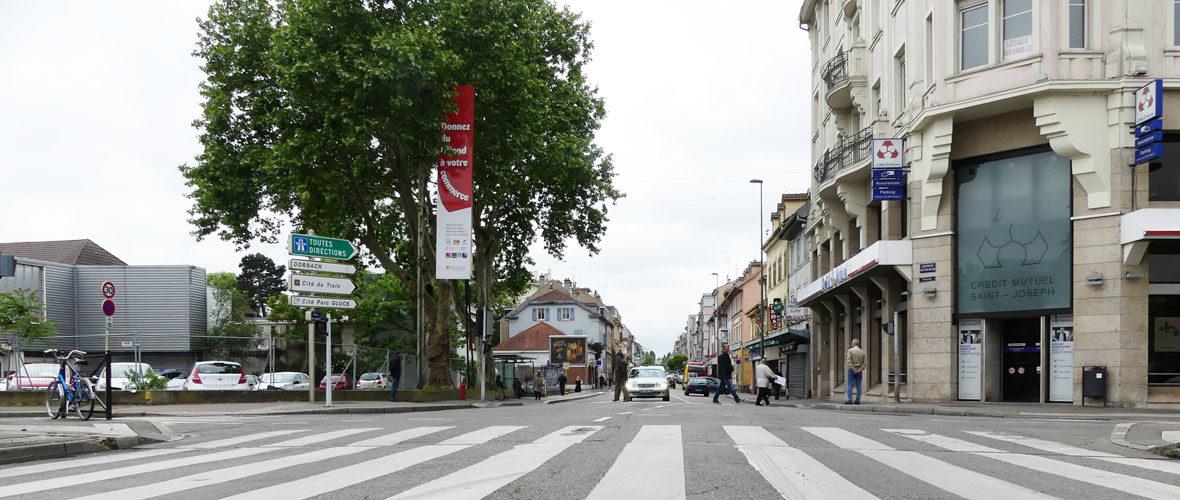 Le renouveau de l'avenue Briand en marche | M+ Mulhouse