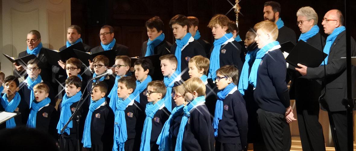Chœur de garçons de Mulhouse : 40 voix pour la paix | M+ Mulhouse