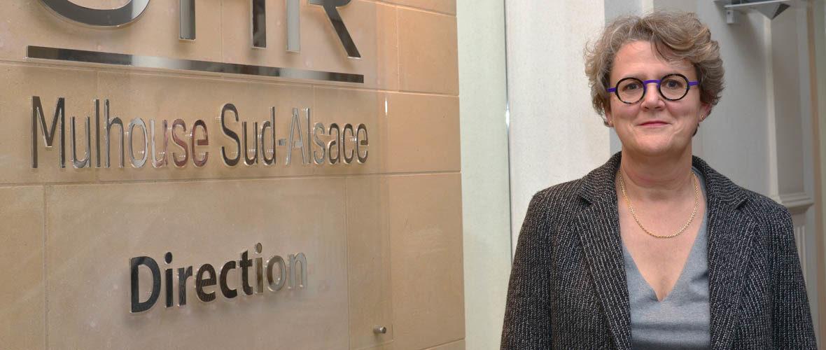 Corinne Krencker à la tête du Groupe hospitalier de la région de Mulhouse et Sud-Alsace | M+ Mulhouse