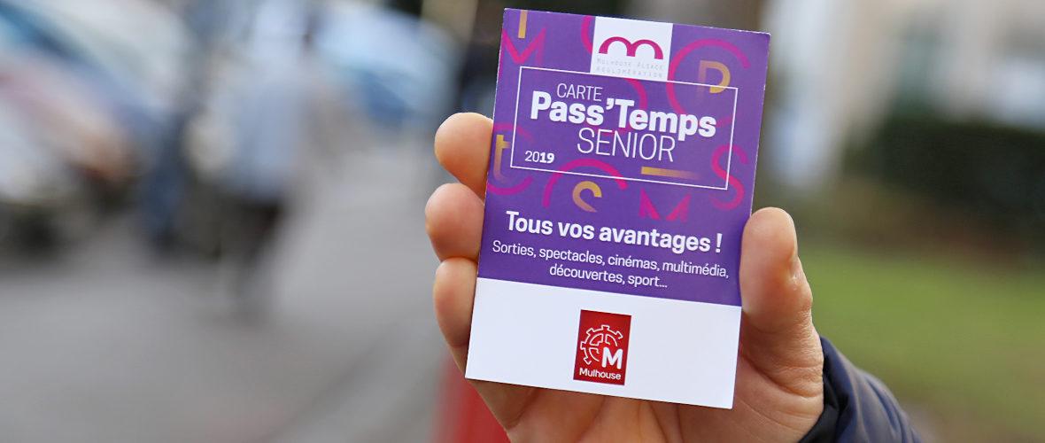 Carte Pass'temps senior: leplein d'avantages pour les 65 ans et plus   M+ Mulhouse