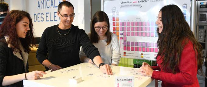 Ecole de chimie : un jeu pour découvrir les éléments