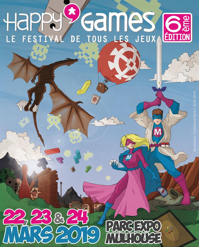 Happy'Games : le festival de tous les jeux !
