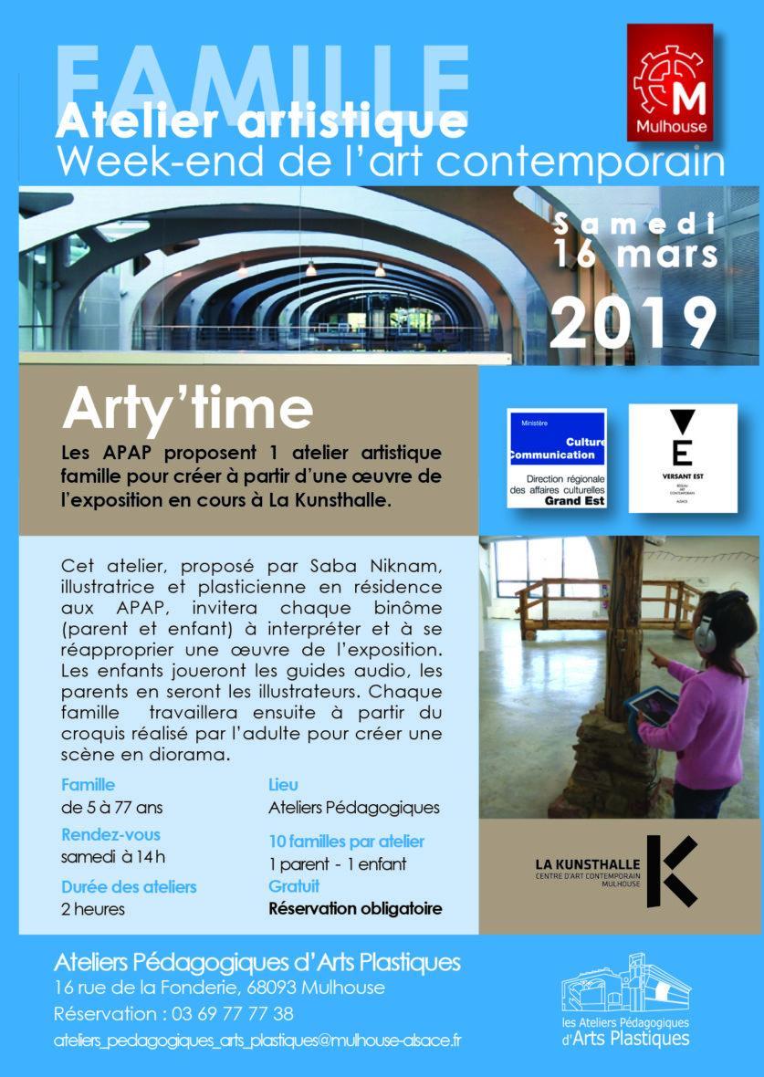 Week-end de l'art contemporain (APAP)arty'time
