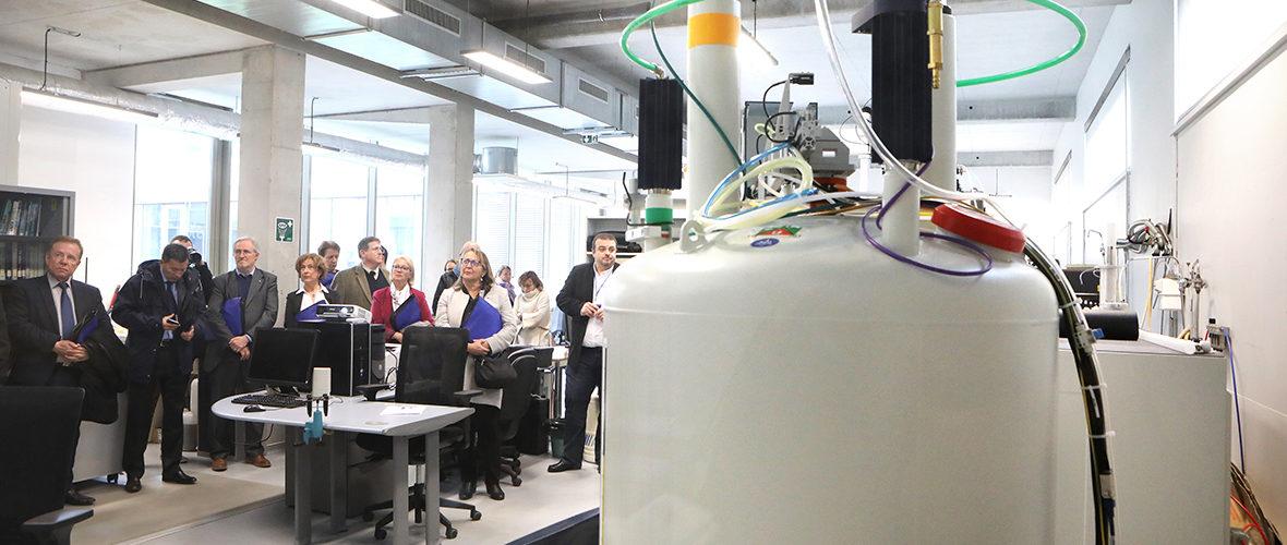 Université: un spectromètre au service de la chimie moléculaire | M+ Mulhouse