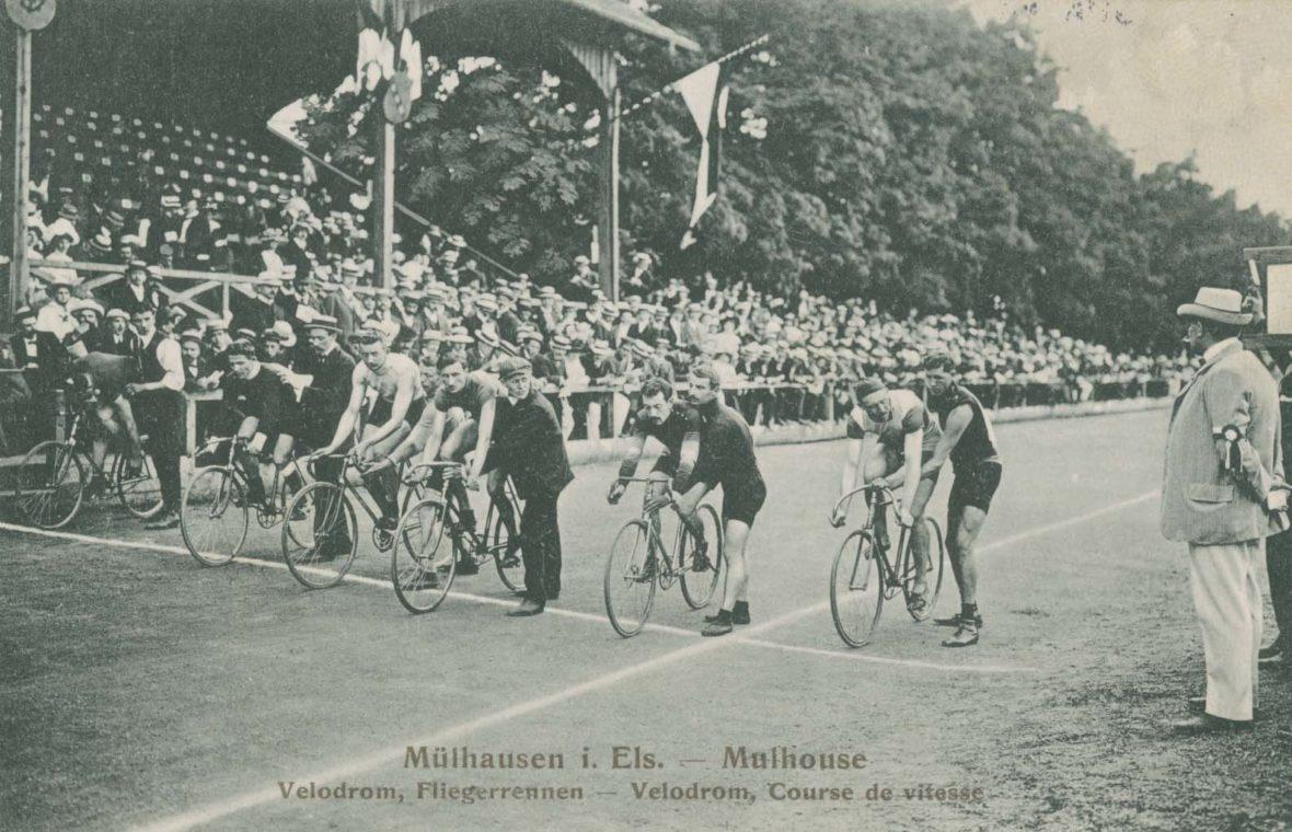 """Quelques pages d'histoire du cyclisme à Mulhouse ou une grande passion locale pour """"La Petite Reine"""""""