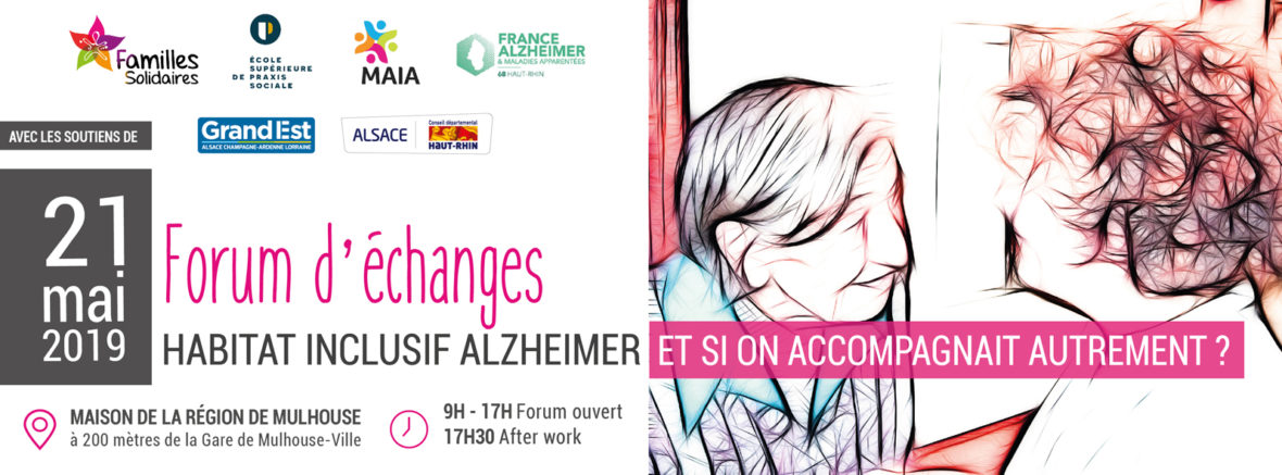 FORUM Habitat inclusif Alzheimer : et si on accompagnait autrement ?