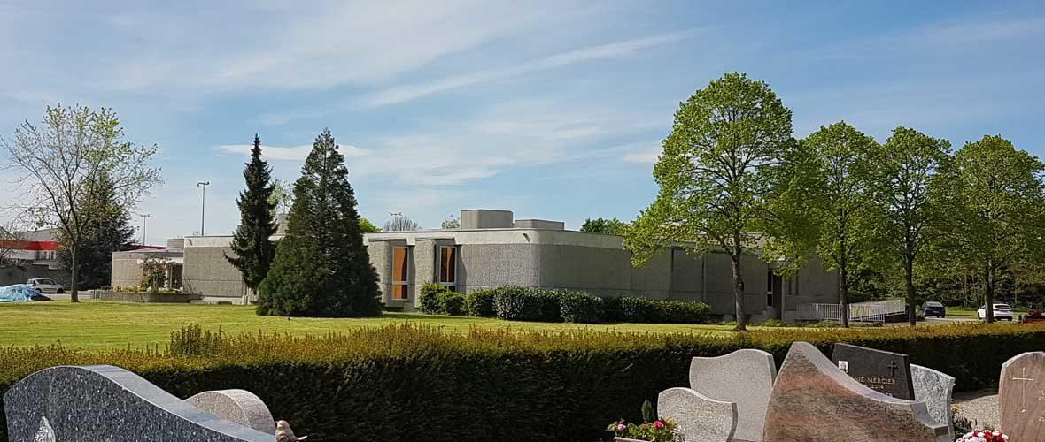 Portes ouvertes: le Centre funéraire de Mulhouse au plus proche des familles endeuillées | M+ Mulhouse