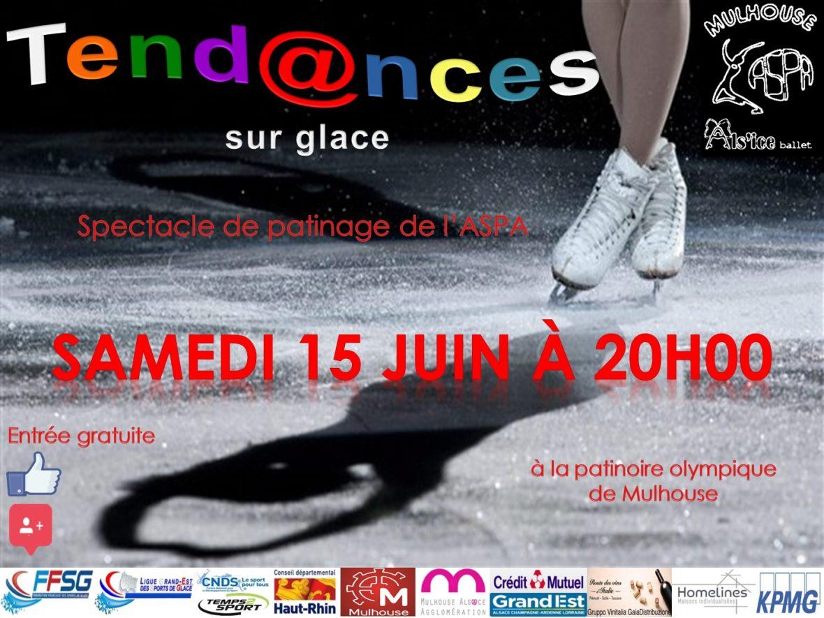"""Gala de patinage artistique : """"Tendances sur glace """""""