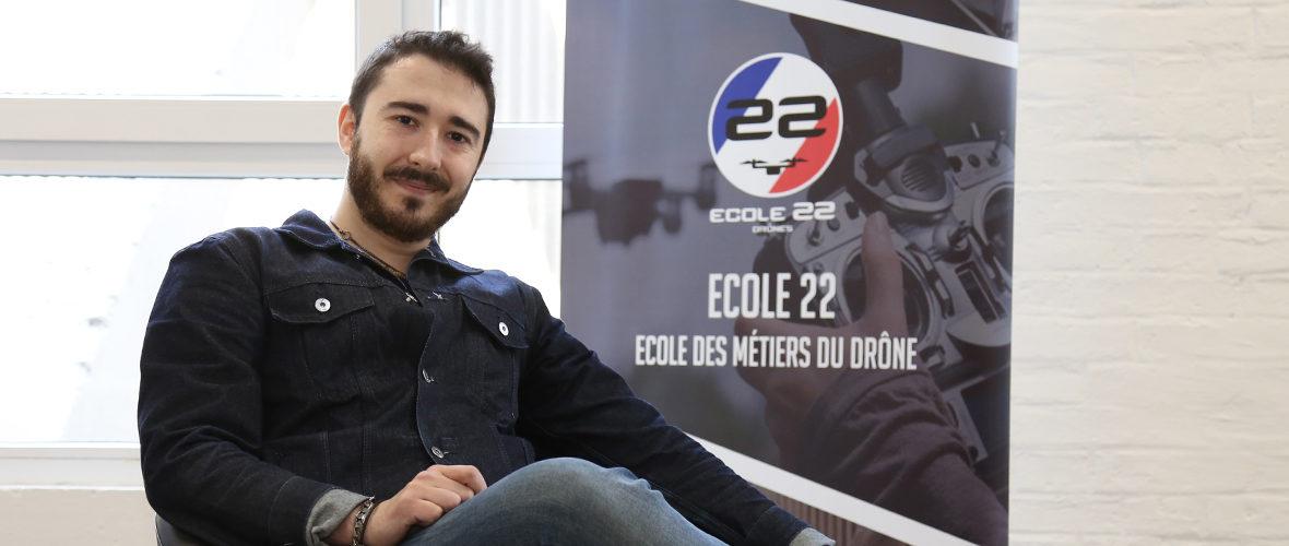 L'Ecole 22, une drone d'idée! | M+ Mulhouse