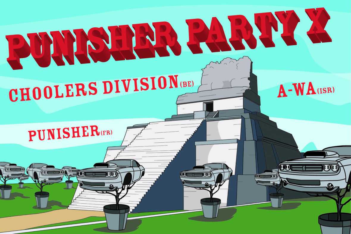 Punisher party -: A-Wa + Choolers Division