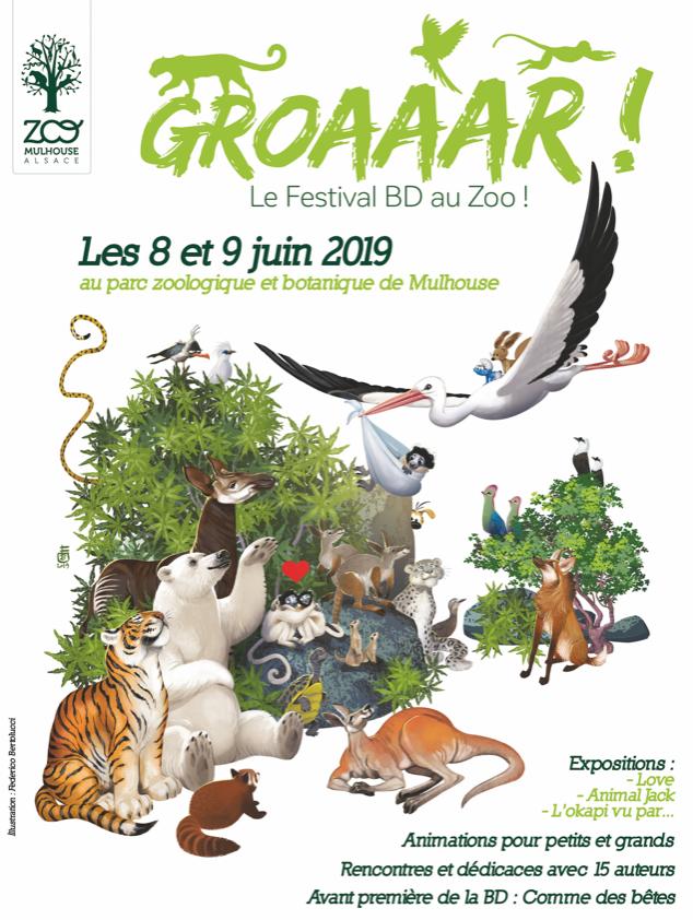 Groaaar ! les animaux croqués par le neuvième art