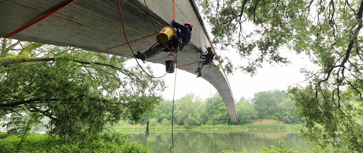 Le «Pont Chinois» fermé pour travaux de maintenance | M+ Mulhouse