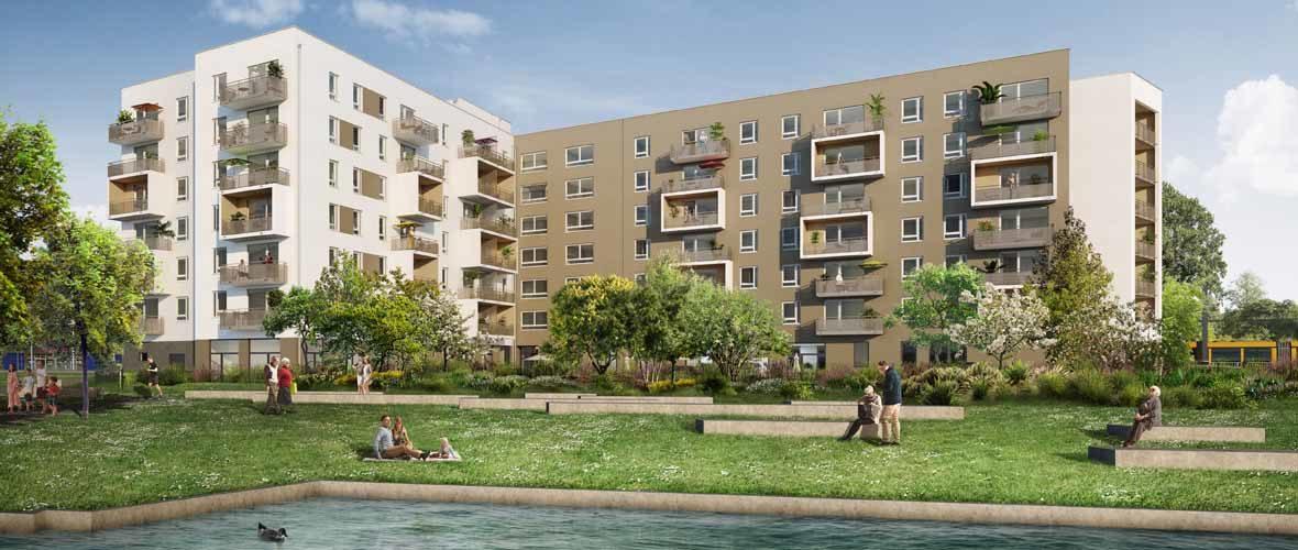 Nouveau Bassin: une nouvelle résidence services seniors en 2021 | M+ Mulhouse