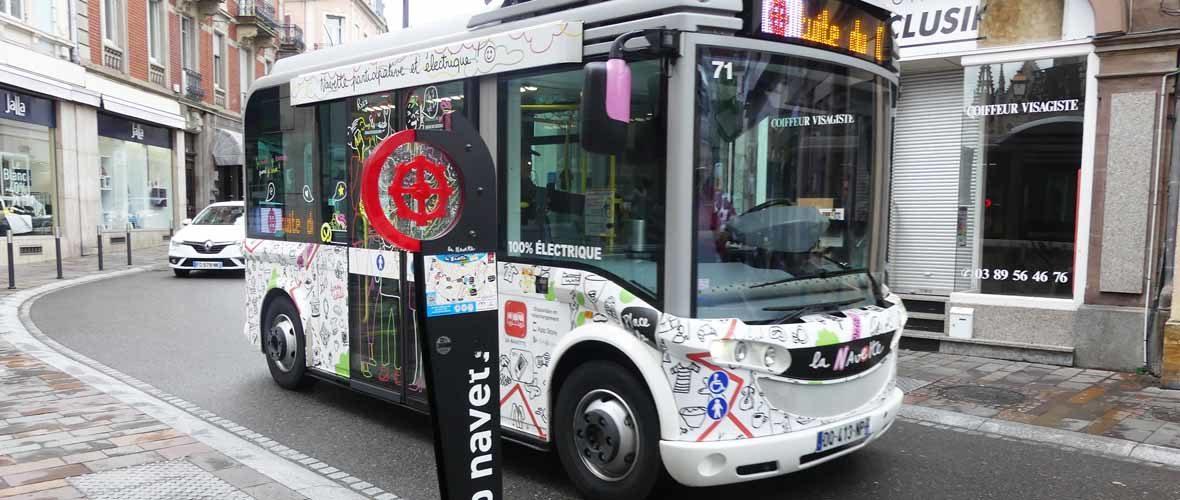 La navette électrique du centre-ville en soutien aux associations | M+ Mulhouse
