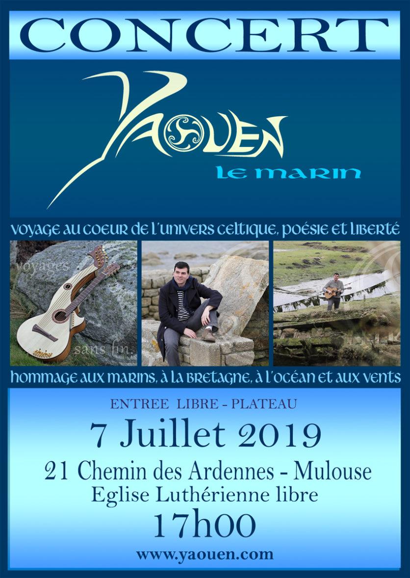 Concert YAOUEN, le Marin