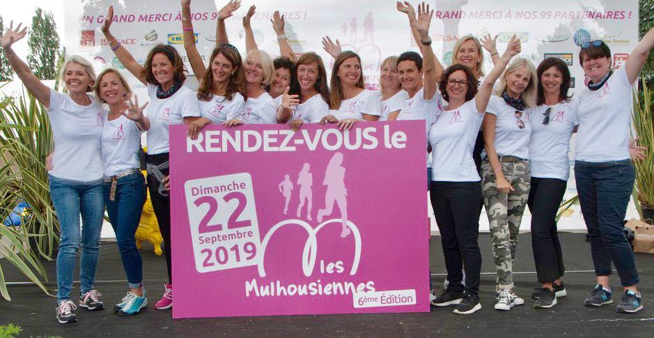 Course/Marche féminine et caritative Les Mulhousiennes